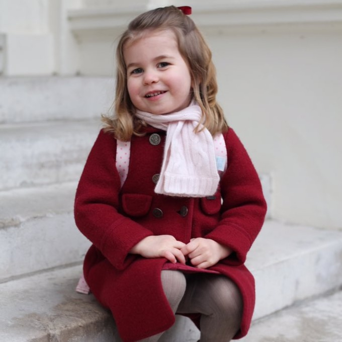 The two photographs were taken by the Duchess of Cambridge.
