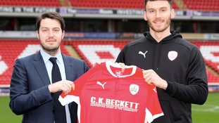 Barnsley unveil Kiefer Moore