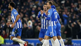 VAR technology present for the first time in English football as Brighton beat rivals Crystal Palace in the FA Cup