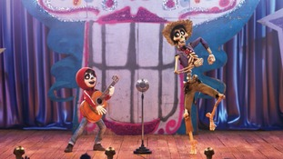 A still from Coco