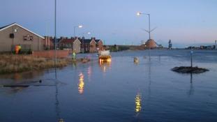 Work begins on major £600k flood defence scheme in Blyth