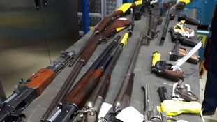 Almost 200 guns surrendered in North Wales Police firearms amnesty