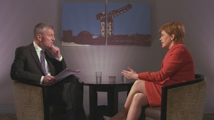 """First Minister: Creating an independent Scotland """"not about flags or passports"""""""