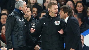 Chelsea boss Anontio Conte: Feud with Man United's Jose Mourinho is personal