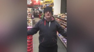 Barry McElduff posted a video of himself with a Kingsmill loaf on his head.