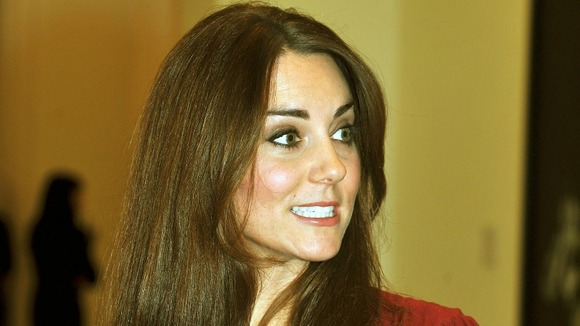The Duchess of Cambridge described the portrait as &quot;amazing&quot;