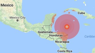 Tsunami warning in place after magnitude 7.6 earthquake strikes in the Caribbean Sea