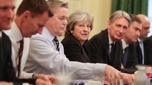 May at Cabinet meeting