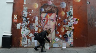Fans boost record sales two years after David Bowie's death