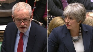 May and Corbyn clash over NHS in first PMQs of 2018