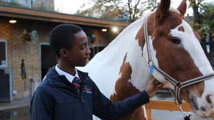 The inner city kids choosing horses over gangs