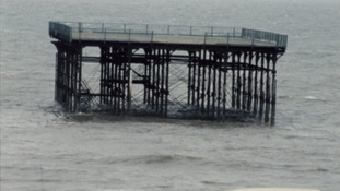 Four decades since Hunstanton pier destroyed by storms
