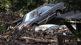 California mudslides death toll rises to 17, with eight people still missing