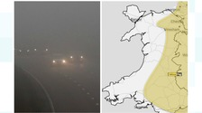 Map and traffic in fog