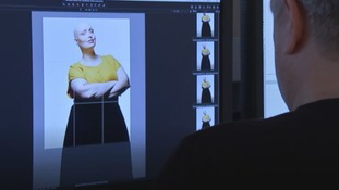 The women took part in a fashion shoot with noted photographer Rankin.