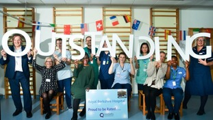 Royal Berkshire Hospital rated as 'outstanding'