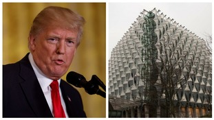 'Bad deal': Donald Trump cancels UK visit to open £734 million US embassy building