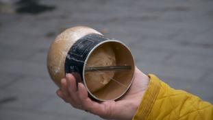 Coconut in plastic