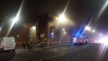 Fire at Nottingham Station