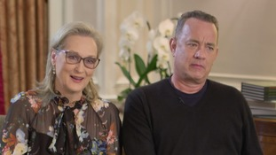 Meryl Streep and Tom Hanks talk 'fake news', gender equality and their new film 'The Post'