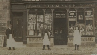 Old photograph of Thompson's
