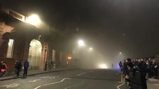Nottingham station was evacuated on Friday morning.