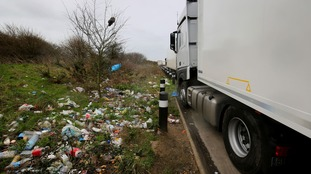 Rubbish roads: who's to blame for litter on verges?