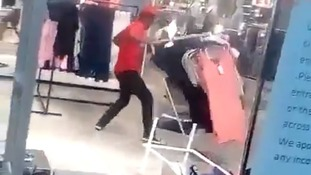 H&M store trashed: Protesters in South Africa rampage over 'coolest monkey' advert