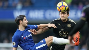 Premier League: 10-man Leicester hold Chelsea at Stamford Bridge
