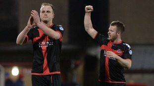 Crusaders stay top after late winner against Ards