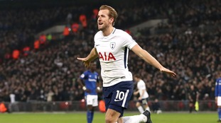 Premier League: Kane breaks record as Spurs thrash Everton