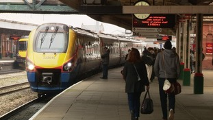 All platforms open at Nottingham station