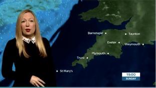 Your Westcountry weather with Philippa Drew