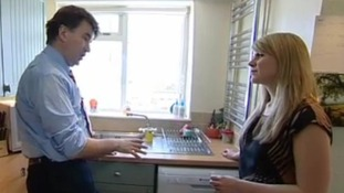 Water saving expert Jacob Tompkins speaks to ITV Meridian's Charlotte Wilkins.