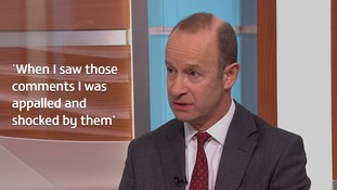 Henry Bolton said he had 'no idea' his now-ex-girlfriend held racist views.