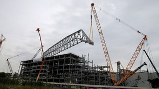 Carillion built the main stand at Anfield.