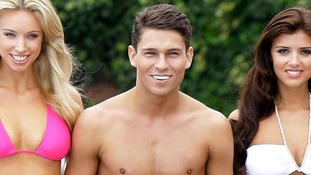 Joey Essex, pictured with The Only Way is Essex co-star Lucy Mecklenburgh (R) said he was doing the show for 'the fans, family and Sam'.