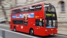 Poorly timed London bus safety warnings ridiculed