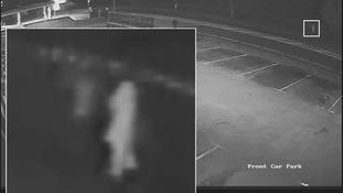 CCTV of two people detectives would like to speak to