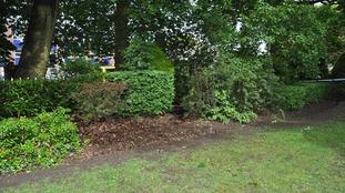 Manor Park in Aldershot, Hampshire