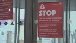 Norovirus sign.