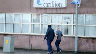 Job fears for workers after construction giant Carillion enters liquidation