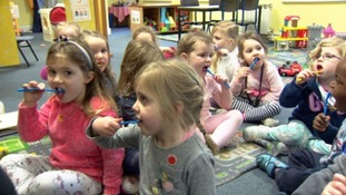 Tooth brushing programme launched to help prevent tooth decay in Guernsey