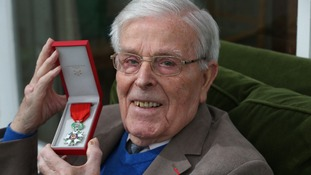 Great-grandfather John Newton, has been awarded the National Order of the Legion of Honour, known as the Legion d'Honneur.