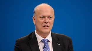 Chris Grayling has received criticism for signing over contractors.