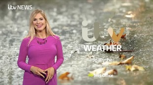 Monday weather - stormy conditions ahead