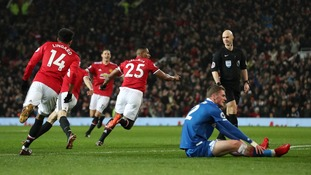 Manchester United sweep Stoke aside at Old Trafford
