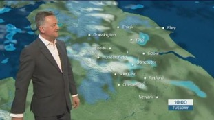 The morning weather update with Jon Mitchell