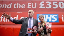 Johnson: £350 million Brexit bus claim was too low