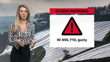 Severe gales tonight - Sophia explains the forecast